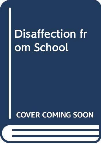 Disaffection from School by Ken Reid