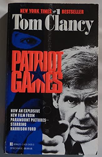 Patriot Games By Tom Clancy