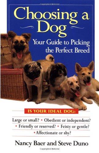 Choosing a Dog By Nancy Baer