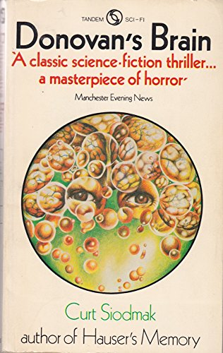 Donovan's brain (Tandem sci-fi) By Curt Siodmak