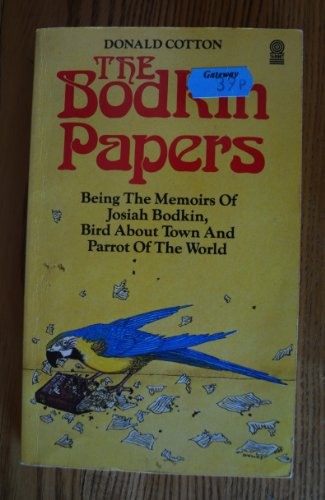Bodkin Papers By Donald Cotton