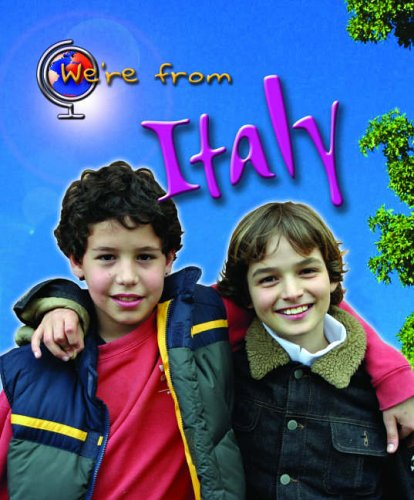 We're from Italy By Vic Parker