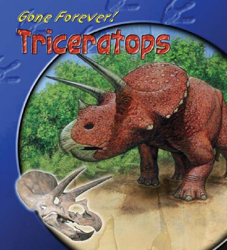 Gone Forever Triceratops Paperback By Rupert Matthews
