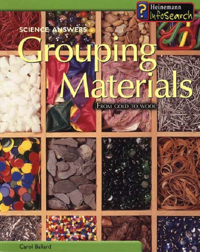 Science Answers: Grouping Materials Paperback By Chris Oxlade