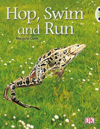 Bug Club Non-fiction Pink A Hop, Swim and Run 6-pack By Margaret Clyne
