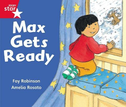 Rigby Star Guided Reception: Red Level: Max Gets Ready Pupil Book (single) By Not Available (NA)