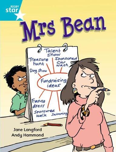 Rigby Star Independent Turquoise Reader 1 Mrs Bean By Jane Langford