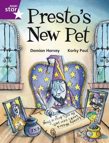 Rigby Star Independent Purple Reader 2: Presto's New Pet by