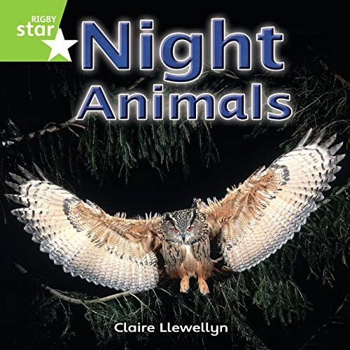 Rigby Star Independent Year 1 Green Non Fiction Night Animals Single By etc.