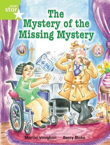 Rigby Star Indep Year 2 Lime Fiction The Mystery of the Missing Mystery Single By Marcia Vaughan