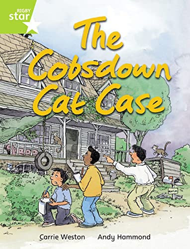 Rigby Star Indep Year 2 Lime Fiction The Cobsdown Cat Chase Single By Carrie Weston
