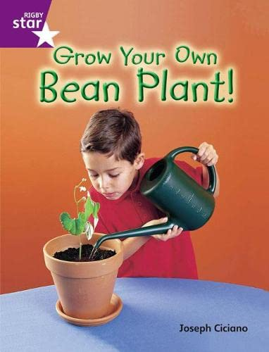 Rigby Star Guided Quest Purple: Grow Your Own Bean Plant! By Joseph Ciciano