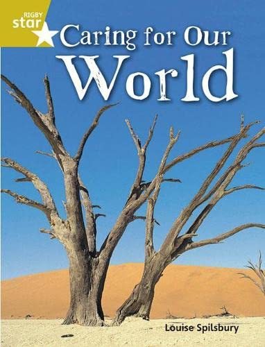 Rigby Star Quest Gold: Caring For Our World Pupil Book (Single) By Not Available (NA)