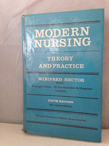 Modern Nursing By Winifred Hector