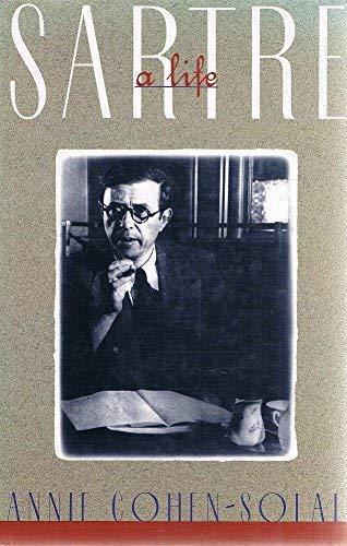 Sartre By Annie Cohen-Solal