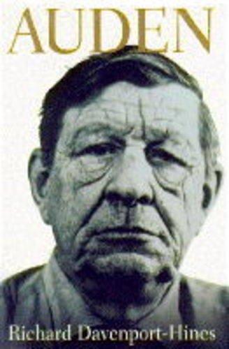 Auden By R. P. T. Davenport-Hines