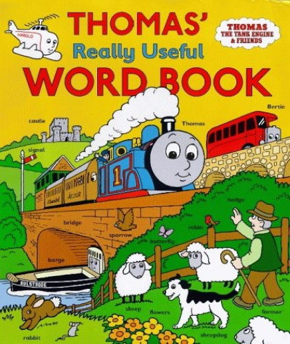 Thomas' Really Useful Word Book By Rev. Wilbert Vere Awdry