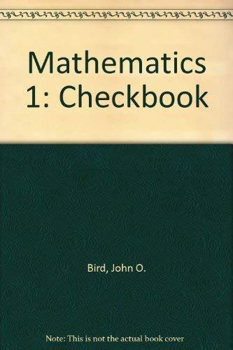 Mathematics 1 By John O. Bird
