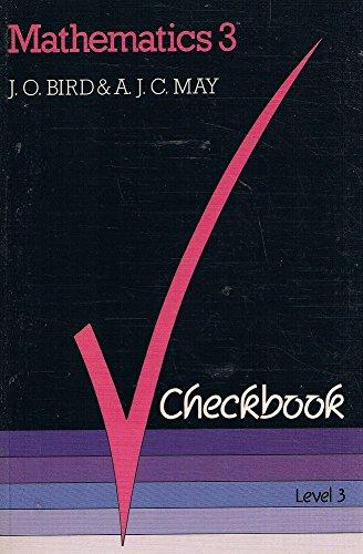 Mathematics 3 Checkbook