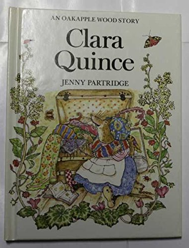 Clara Quince By Jenny Partridge