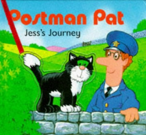 Jess's Journey: A Push Out and Play Book (Postman Pat) By Owain Bell
