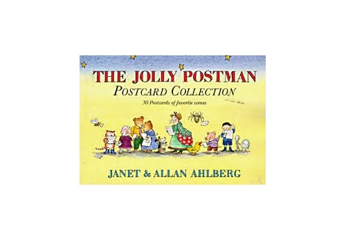 The Jolly Postman Postcard Book By Allan Ahlberg