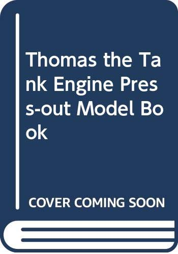 Thomas the Tank Engine Press-out Model Book By Christopher Awdry