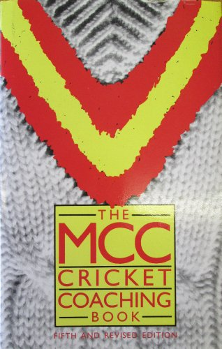 Cricket Coaching Book By Marylebone Cricket Club