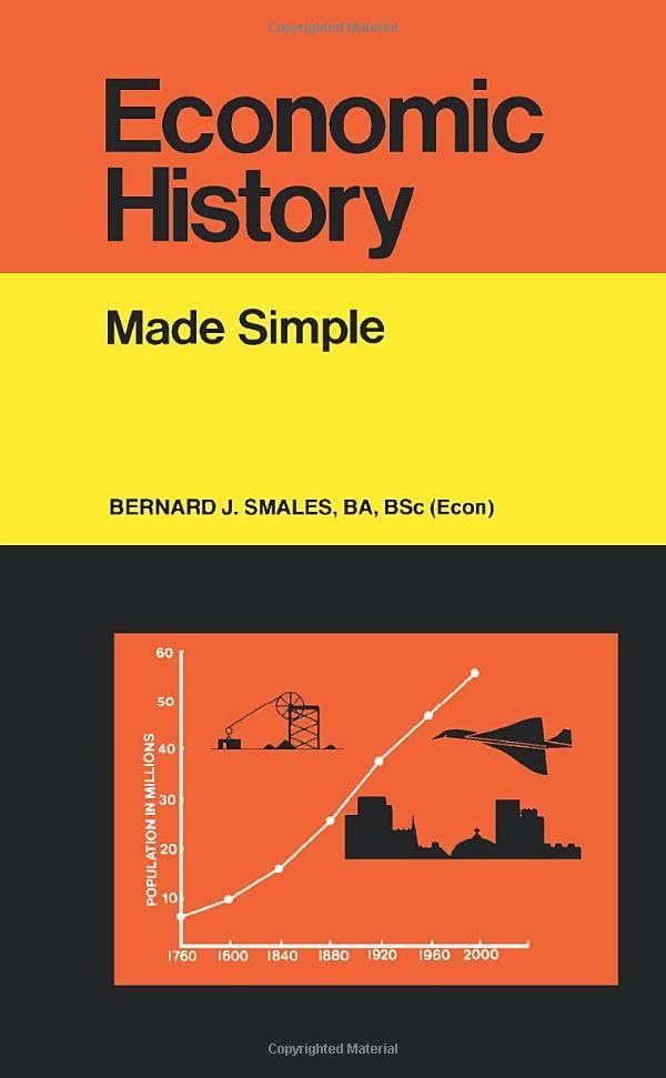 Economic History By Bernard J. Smales