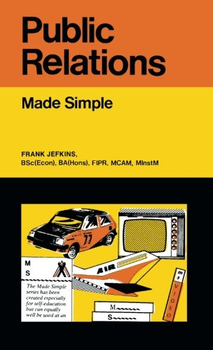 Public Relations By Frank William Jefkins