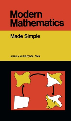 Modern Mathematics: Made Simple (Made Simple Books) By Patrick Murphy