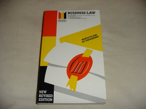 Business-Law-Made-Simple-S-by-Hoyle-Ken-0434985643-The-Cheap-Fast-Free-Post