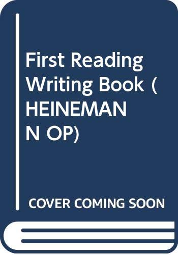First Reading Writing Book By Margaret Hooton