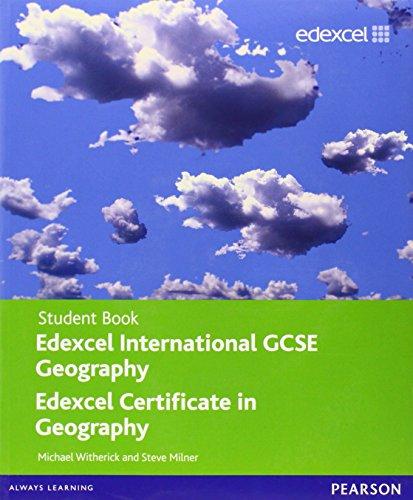 Edexcel International GCSE Geography Student Book with ActiveBook CD By Steve Milner