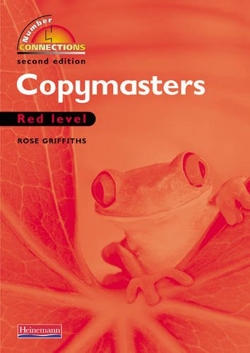 Number Connections Red: Photocopy Masters By Rose Griffiths