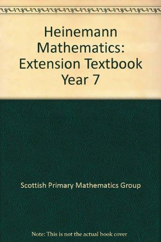 Heinemann Mathematics By Scottish Primary Mathematics Group