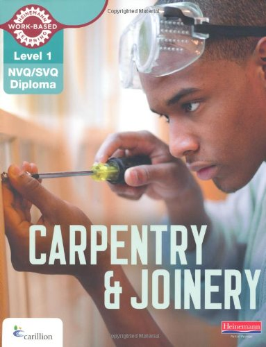 Level 1 NVQ/SVQ Diploma Carpentry and Joinery Candidate Book (NVQ Carpentry & Joinery) By Kevin Jarvis