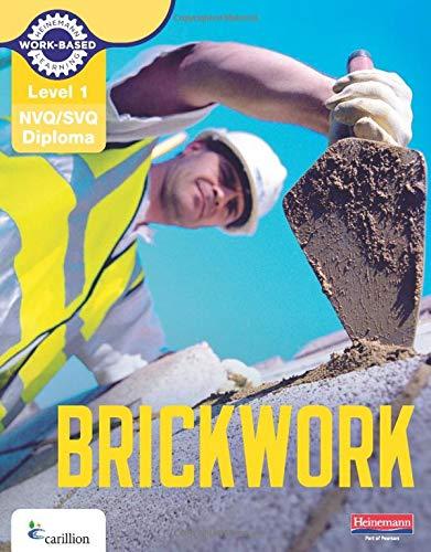NVQ/SVQ Diploma Brickwork Candidate Handbook: Level 1 by Dave Whitten