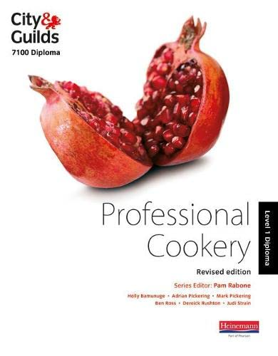 City & Guilds 7100 Diploma in Professional Cookery Level 1 Candidate Handbook, Revised Edition by Holly Bamunuge