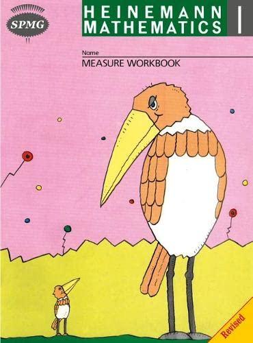 Heinemann Maths 1 Measure Workbook 8 Pack By Scottish Primary Maths Group SPMG