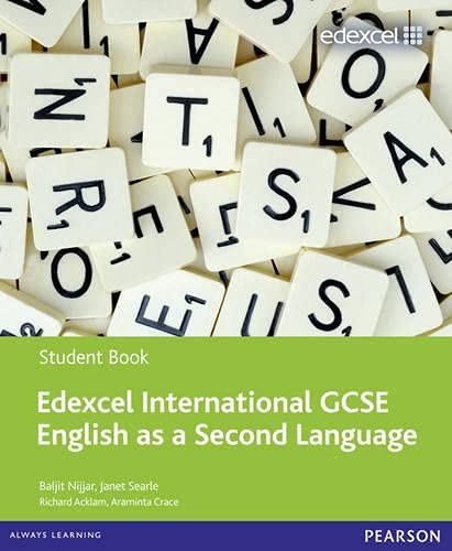 Edexcel International GCSE English as a Second Language Student Book with ActiveBook CD By Baljit Nijjar