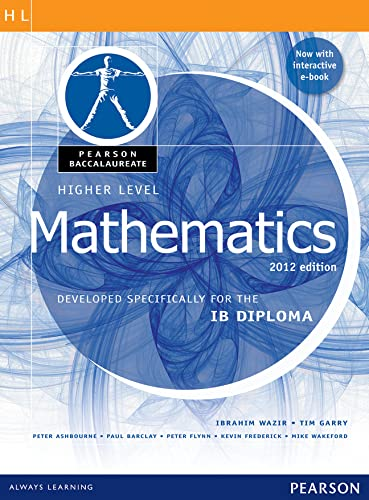 Pearson Baccalaureate  Higher Level Mathematics second edition print and ebook bundle for the IB Diploma von Ibrahim Wazir