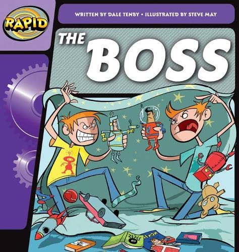 Rapid Phonics The Boss  Step 1 (Fiction) By Dale Tenby