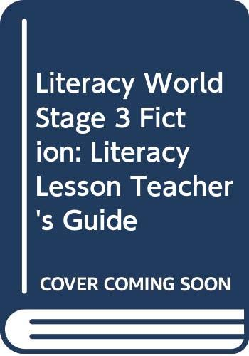 Literacy World Stage 3 Fiction:  Literacy Lesson Teacher's Guide By Dee Reid