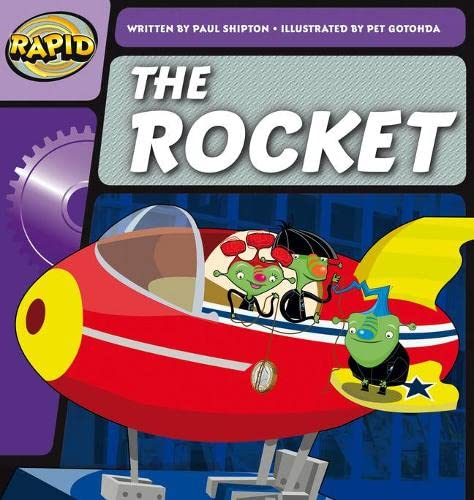 Rapid Phonics The Rocket Step 2 (Fiction) By Paul Shipton