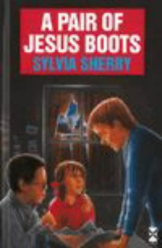 A Pair Of Jesus Boots By Sylvia Sherry