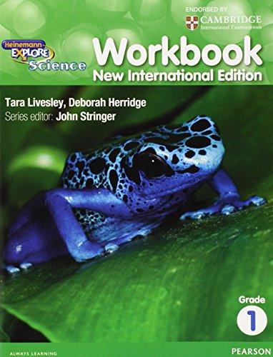 Heinemann Explore Science 2nd International Edition Workbook 1 By John Stringer