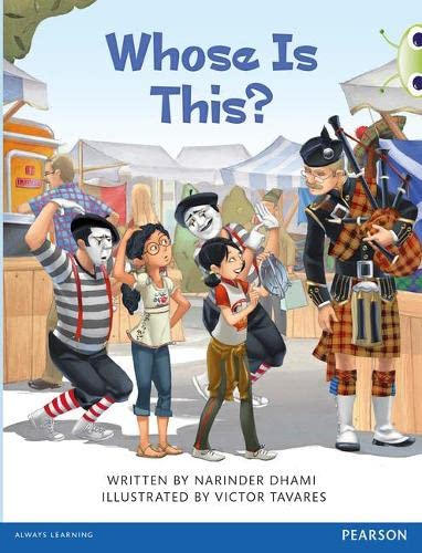 Bug Club Brown A Whose Is This? By Narinder Dhami