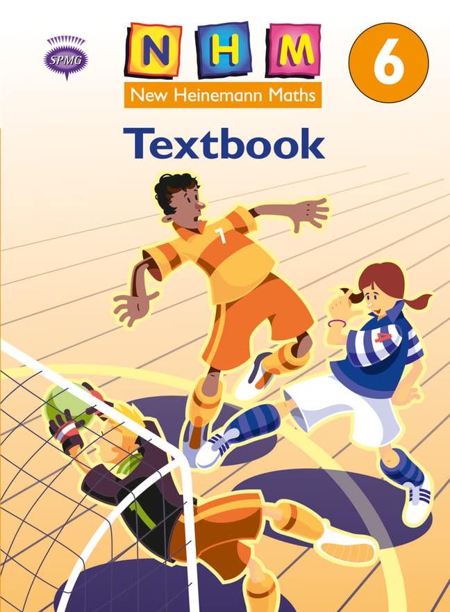 New Heinemann Maths Yr6, Textbook By Scottish Primary Maths Group