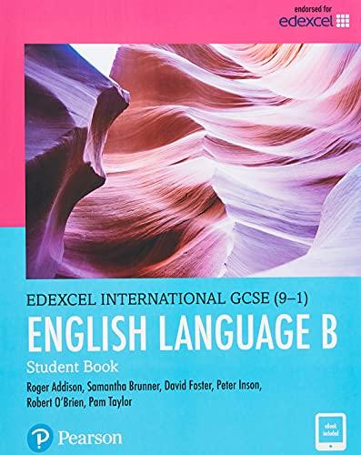 Pearson Edexcel International GCSE (9-1) English Language B Student Book By Pam Taylor
